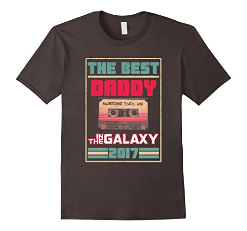 Mens Vintage Best Daddy In Galaxy Birthday T-Shirt Christmas Gift Large - The Guardians Galaxy Of Gifts