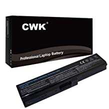 CWK® New Replacement Laptop Notebook Battery for PA3817U-1BRS Toshiba Satellite L755D-S5204 L755-S9520D L755-S5246 Toshiba Satellite L645D L650D L670D C650D C675D PA3818U-1BRS P745 P750 P755 P770 P775 U500 U505 PA3818U L740 L745 L745D L755 L755D L755-S524 L670 L670D L675 L675D L700 L730 L735 L740 PABAS117 Toshiba PABAS178 PABAS201 PABAS227 PABAS228 PABAS229