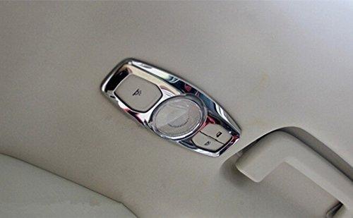 Emblem Trading Mittelkonsole Armaturenbrett Blende Verkleidung Rahmen Edelstahl Optik Autozubeh/ör