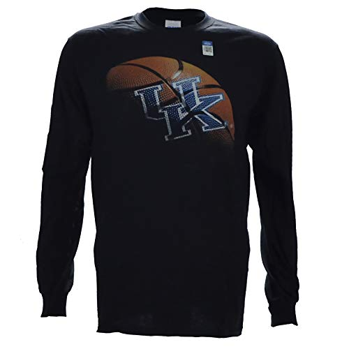 University of Kentucky Real Ball on a Long Sleeve Black