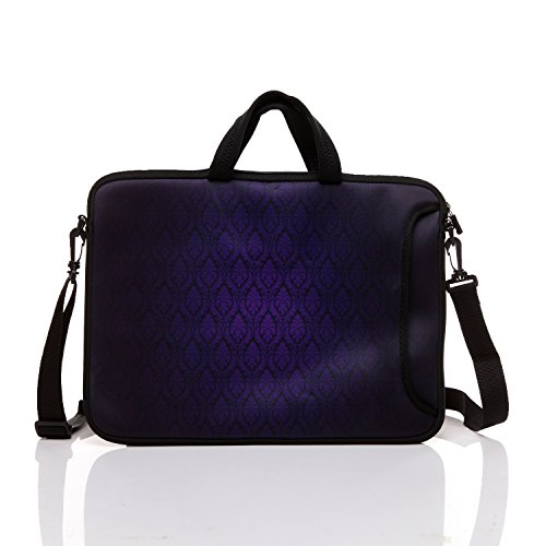 10-Inch Neoprene Laptop Tablet Shoulder Messenger Bag Case S