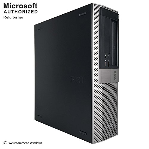 Dell 980 Business High Performance Desktop Computer PC (Intel CORE I7 870 2.93G,8G RAM DDR3,500G HDD,DVD,Windows 10 Professional)(Certified Refurbished) (Ci7 8G 500G Windows 10) by Dell