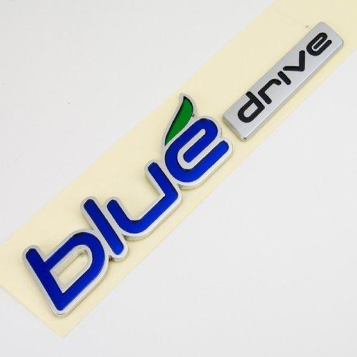 Hyundai Sonata YF Hybrid Blue Drive Emblem (Blue Hyundai Sonata)