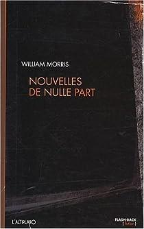 Nouvelles de Nulle Part par Morris