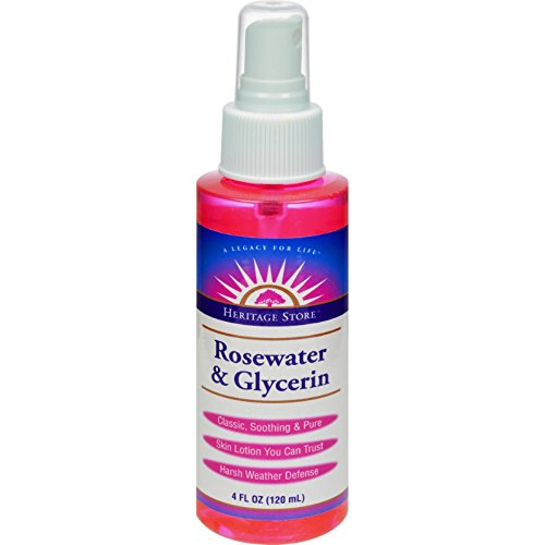 Heritage Products Rosewater and Glycerin Spray - 4 fl oz - Heritage Products Rose
