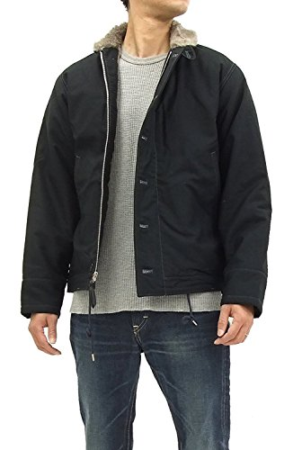 Buzz rickson's Men's U.S.Navy Blue N-1 Deck Jacket for sale  Delivered anywhere in USA