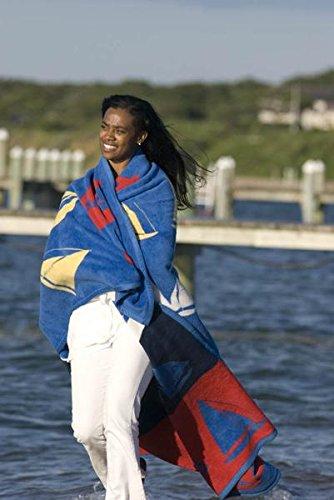 ChappyWrap Oversize Cotton Throw Blanket - Coastal Living Collection by ChappyWrap (Image #2)