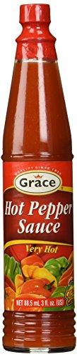 Jamaican Hot Pepper - Grace Hot Pepper sauce 3oz
