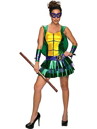 Secret Wishes Women's Teenage Mutant Ninja Turtles Donatello Costume Dress, Multi, Large ()