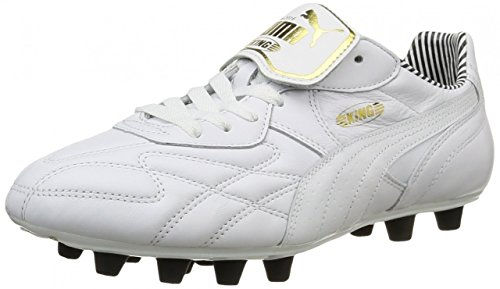 Puma King Top DI FG rayé blanc
