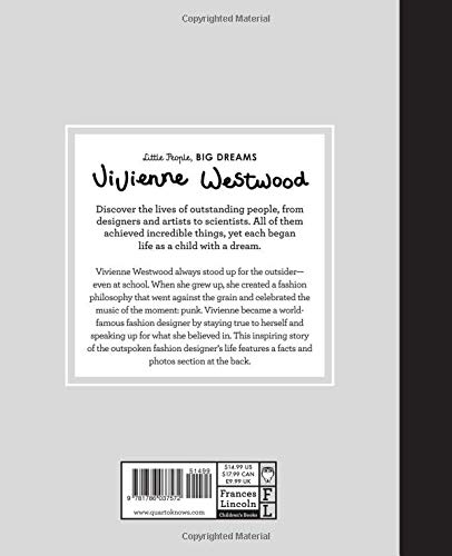 Vivienne Westwood (Little People, BIG DREAMS) by Frances Lincoln Children's Books (Image #1)