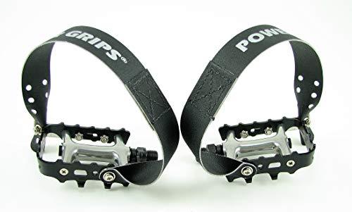 Power Grips Sport Pre-Assembled Strap/Pedal Kit, Black, X-Large