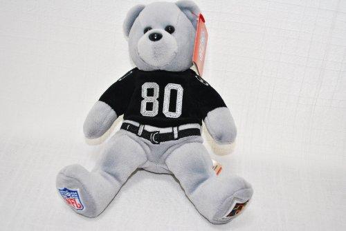 Oakland Raiders Nfl Uniform - Oakland Raiders Player Uniform #80 Jerry Rice Great NFL Official Plush Teddy Bear
