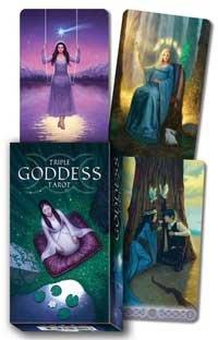 Fortune Telling Tarot Cards Triple Goddess Deck Embrace Deep Magic Feminine Divine Phases Moon