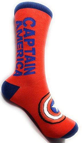 Favorite Superhero Novelty Socks (Captain America)