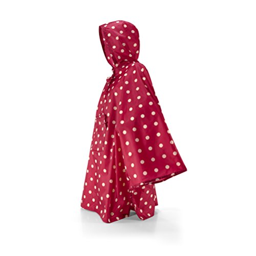 Reisenthel Regenmantel mini maxi, ruby dots, M, AN3014