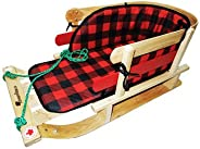 Streamridge Frontier COMFORTABLE Baby Sleigh - Braided Pull Rope - Wrapped in WATERPROOF 600 Denier POLYESTER