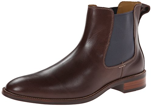 Cole Haan Men's Lenox Hill Chelsea Boot,Chestnut Water Proof,7.5 M US