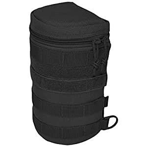 Hazard 4 Jelly Roll Lens/Scope/Bottle Padded Case with Molle, Black