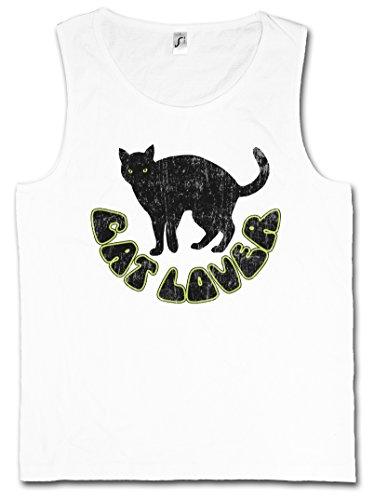 CAT LOVER HERREN TANK TOP MUSCLE SHIRT