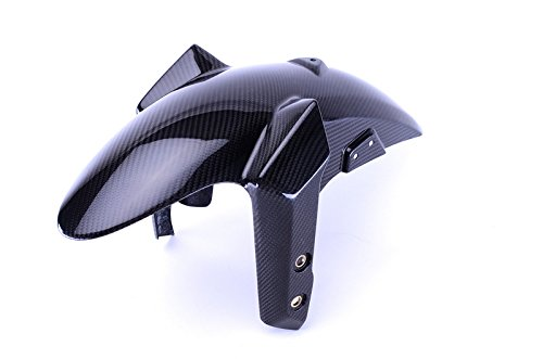 Bestem CBYA-FZ9-FFD-MT Full Carbon Fiber Front Fender in Twill Weave for Yamaha FZ-09//MT-09