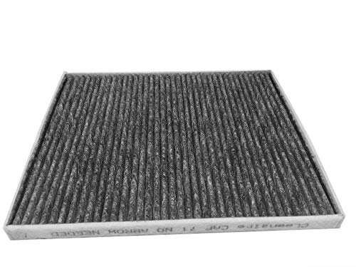 13 Fusion - Cleenaire CAF71 The Most Advanced Protection Against Dust, Smog, Gases, Odors and Allergens, Cabin Air Filter Replacement For Ford 13-17 Fusion 13-16 MKZ 15-16 Edge