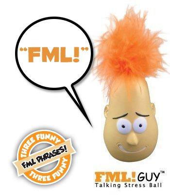 Fml Guy Talking Stress Ball