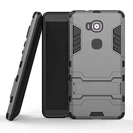 Amazon.com: For Huawei G7 Plus Slim Layer Tough Armor Back ...