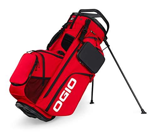 OGIO ALPHA Convoy 514 Golf Stand Bag, Deep Red