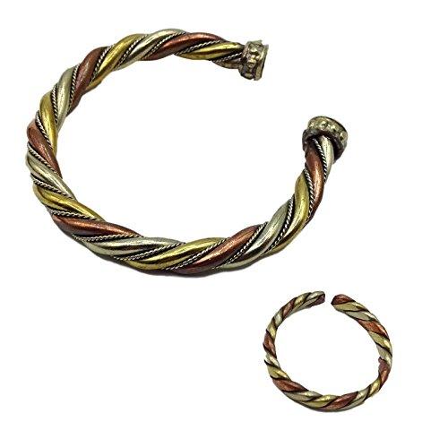 Bangles Amp Bracelets Tibetan Three Metal Healing Medicine