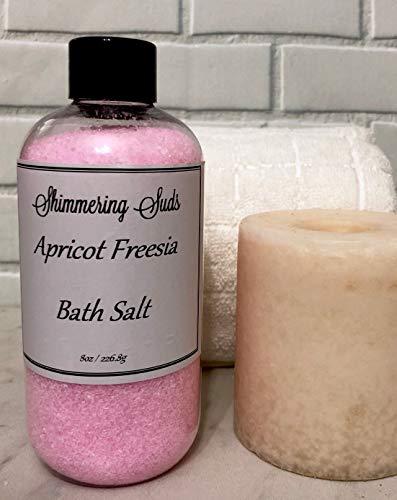 (Apricot Freesia Bath Salt, 8oz )