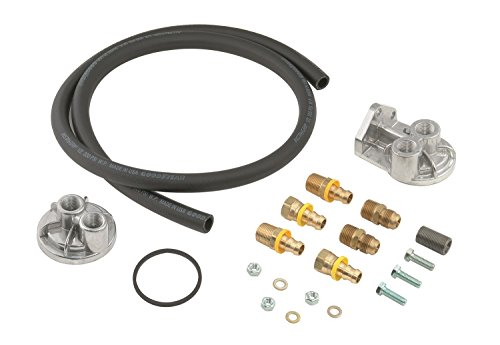 Mr. Gasket 7682 Remote Oil Filter System (Remote Oil Filter Kit)
