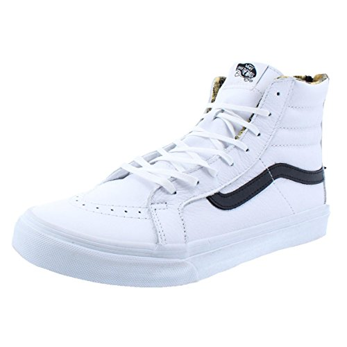 Black Vans Slim Hi Unisex Black White Sneakers Hologram Sk8 Zip xqrXSPnr