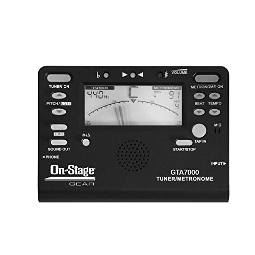 On-Stage GTA7000 Chromatic Tuner/Metronome/Tone Generator from OnStage