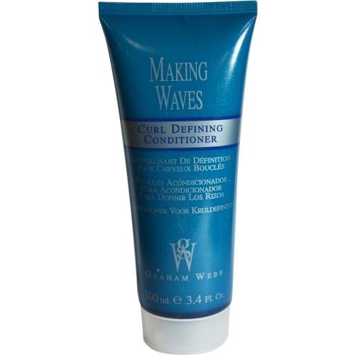 Graham Webb Making Waves Curl Defining Conditioner - 3.4 oz - travel size by Graham Webb