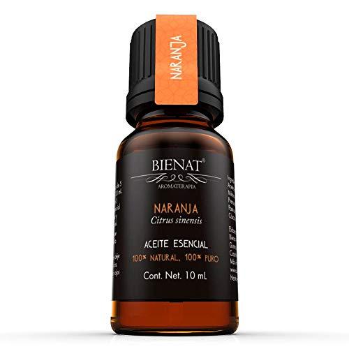 BIENAT AROMATERAPIA Aceite Esencial de Naranja 10mL