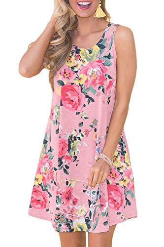 Summer Beach Floral Printed Dress