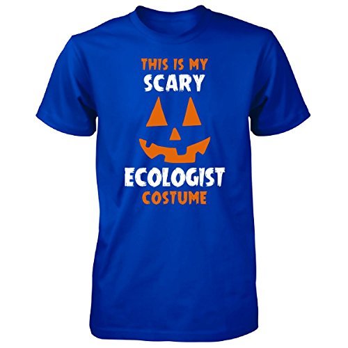 Ecologist Costume (This Is My Scary Ecologist Costume Halloween Gift - Unisex Tshirt Royal 5XL)