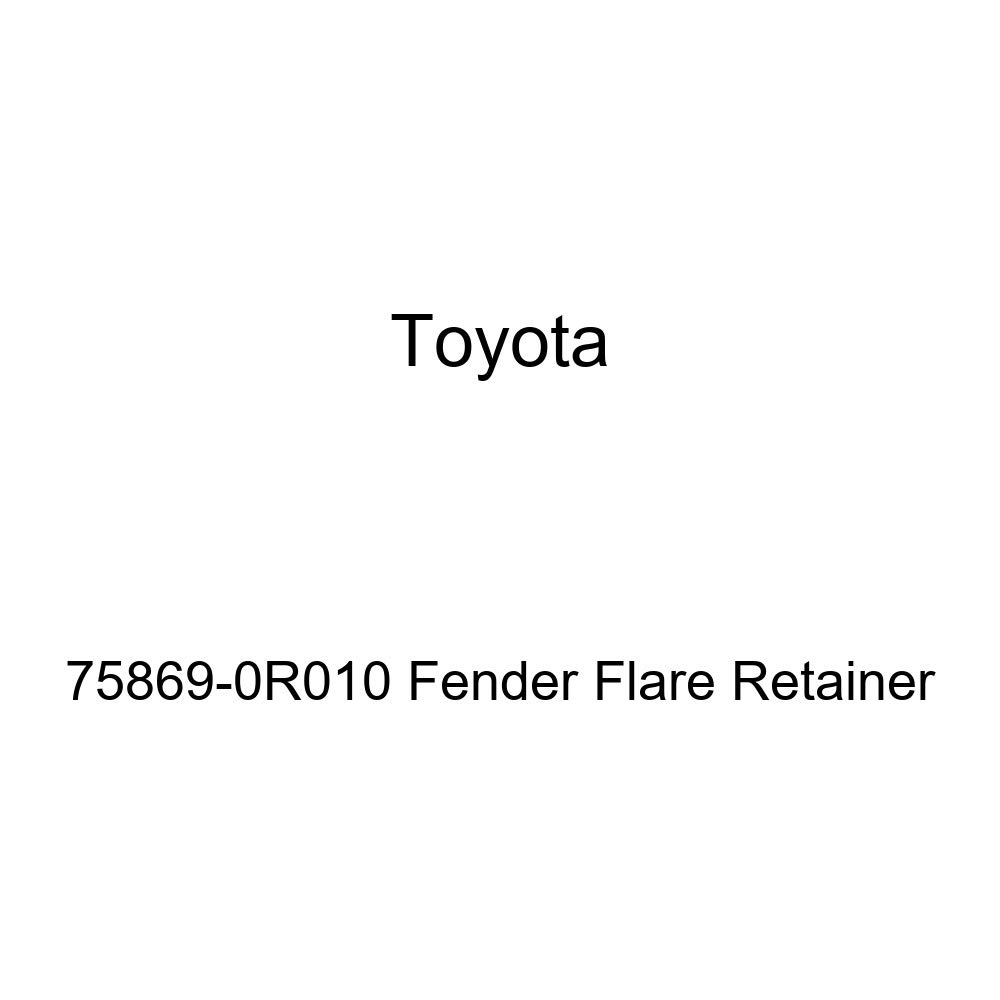 Genuine Toyota 75869-0R010 Fender Flare Retainer