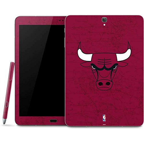 NBA Chicago Bulls Galaxy Tab S3 (2017) Skin - Chicago Bulls Red Distressed Vinyl Decal Skin For Your Galaxy Tab S3 (2017) by Skinit