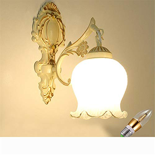 Modern Apricot - Wall Lights Outdoor lamp led Garden lamp European Modern Wall Lights, Apricot, 9 watt