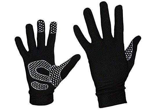 Zimco Cycle wear Super Roubaix Running Gloves Winter Full Finger Thermal Gloves Fleece Gloves (L/XL)