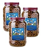 Office Snax, OFX00082, Old Fashioned Mini Twist Pretzels, 1 Each (Pack of 3)