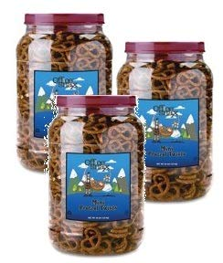 Office Snax, OFX00082, Old Fashioned Mini Twist Pretzels, 1 Each (Pack of 3) by Office Snax (Image #3)