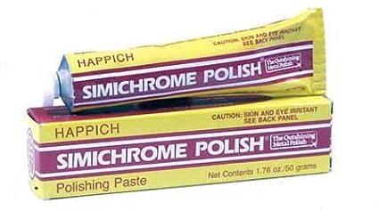 Simichrome Simichrome Polish 1.76oz 1.76 oz Tube Happich Simichrome LN-OCPCC80-0- 1pack