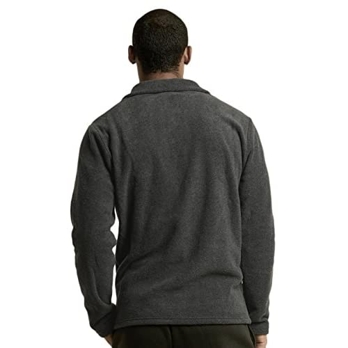 a0aac75b5369b Teejoy Men s Polar Fleece Quarter Zip Pullover (L