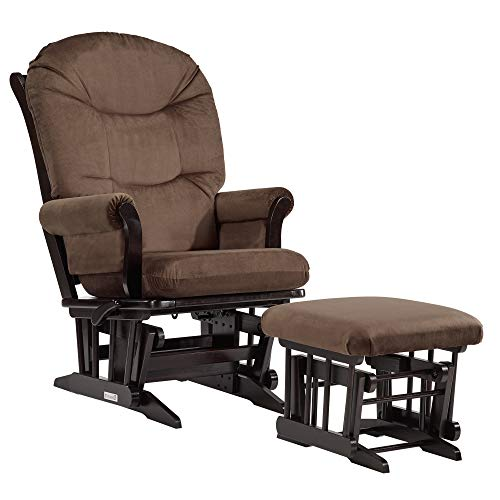 Dutailier Sleigh 0368 Glider Multiposition-Lock Recline with Ottoman Included ()