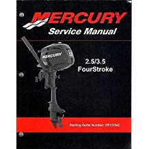 2007 MERCURY OUTBOARD 2.5/3.5 FOUR STROKE P/N 90-899925 SERVICE MANUAL (437)