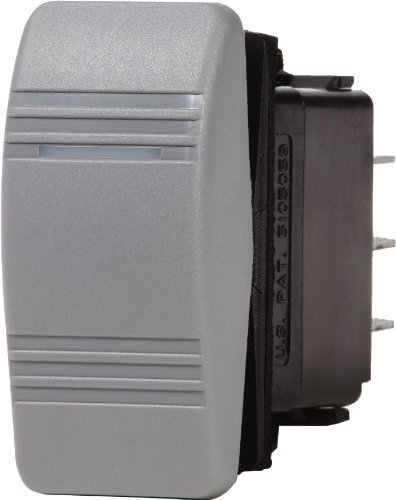Contura Switch Mounting Panel (Blue Sea Systems Contura OFF-ON SPST Switch, Grey)