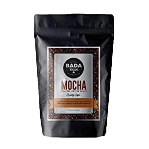 Bada Bean Coffee, Mocha, Roasted Beans. Fresh Roasted Daily. Award Winning Speciality Coffee Beans. 1000g (Whole Beans)